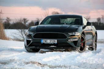 Ford Mustang 5.0 Ti-VCT V8 Bullitt – legenda filmového plátna