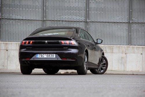 Peugeot 508 Active 2.0 BlueHDI EAT8 – překvapení v základu