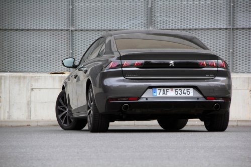 Peugeot 508 1.6 PureTech – benzinová volba