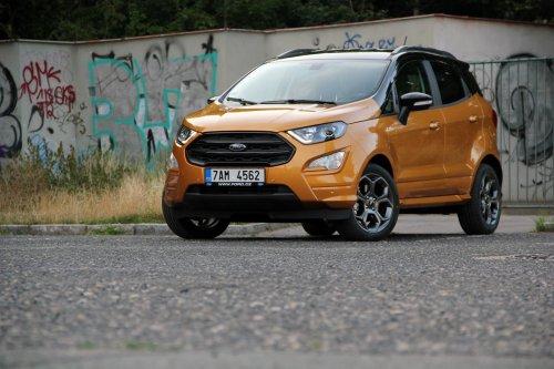 Ford EcoSport 1.0 EcoBoost – povedený crossover pro každý den