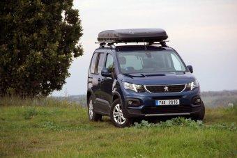 Peugeot Rifter 1.2 PureTech + Hussarde Quattro – vzhůru pod stan