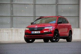 Škoda Karoq Sportline 1.5 TSI  – v klidu sportovně