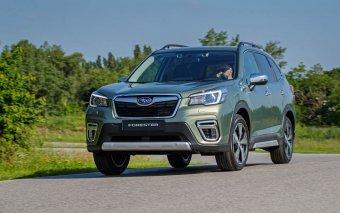 Nové Subaru Forester využívá hybridní technologie