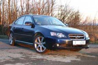 Subaru Legacy 3.0 R spec. B - skrytá síla (TEST)