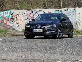 Škoda Superb 2.0 TDI AP – povedená evoluce