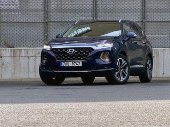 Hyundai Santa Fe 2.2 CRDi – dálniční křižník pro sedm