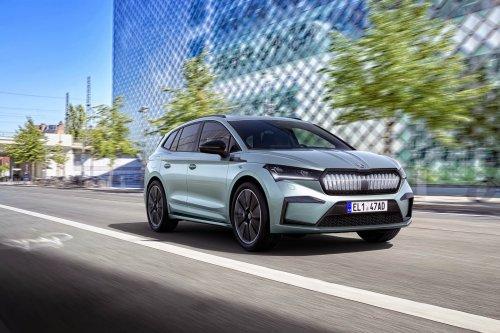 Světová premiéra crossoveru Škoda ENYAQ iV – elektrická éra startuje