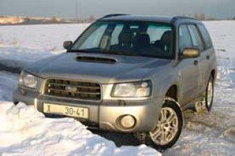 Lesák STi - Subaru Forester 2.5 XT (TEST)