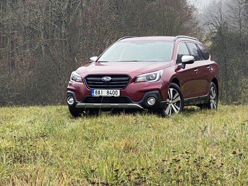 Subaru Outback 2.5i-S ES – univerzální crossover