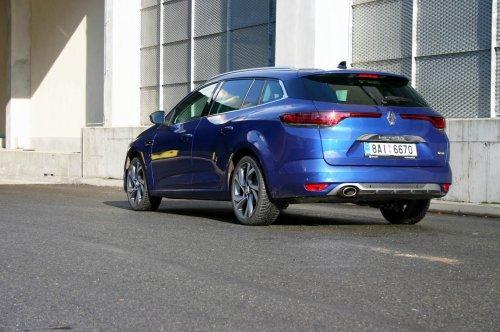 Renault Megane Grandtour TCe 160 EDC – dynamická modernizace