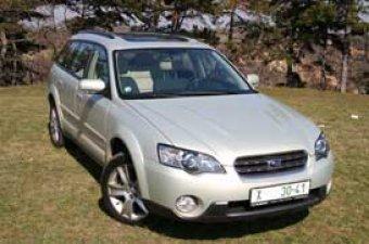 O něco výše - Subaru Outback 3.0 R(TEST)