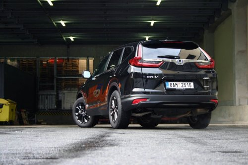 Honda CR-V 2.0 i-MMD Hybrid AWD e-CVT – povedená modernizace