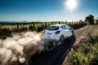 Peugeot Rally Cup – peklo v Hustopečích