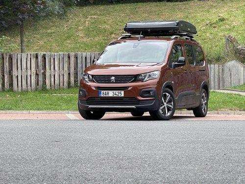Peugeot Rifter Long 1.5 BueHDI – rodinný outdoor