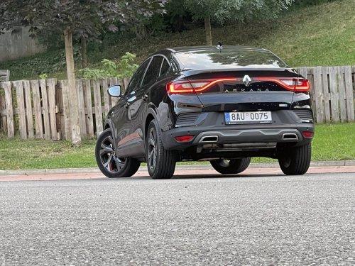 Renault Arkana E-Tech Hybrid 145 - stylové SUV s funkční hybridní technologií