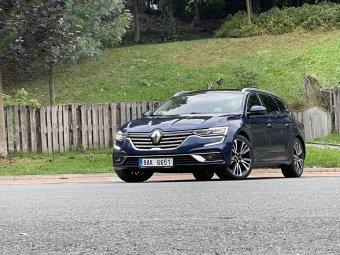 Renault Talisman Grandtour Blue dCi 190 EDC – zrozen pro cestování