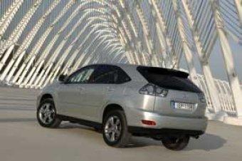 Hybridní Lexus konečně v ČR - Lexus RX 400h