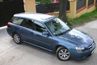 Subaru Legacy Wagon Edition - speciální edice (TEST)