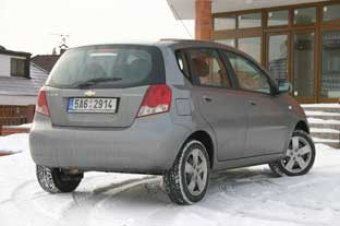 Prostorný a nenáročný - Chevrolet Kalos 1.2 5D Star (TEST)