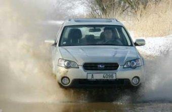 Subaru Outback 3.0 R AT EXE - lék do nepohody (TEST)