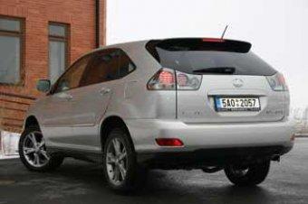 Hybridní síla-Lexus RX 400h (TEST)