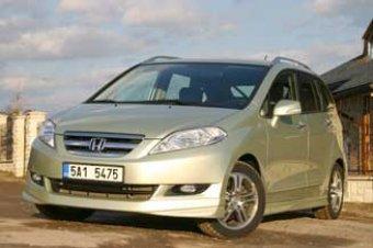 Honda FR-V 2.2 i-CTDi - naftová rodinka (TEST)