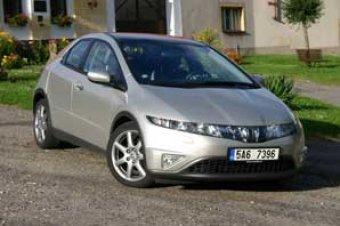 Honda Civic 5D i-CTDi - ropák z vesmíru (TEST)
