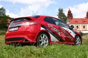 Honda Civic Type R - nadzvukové letadlo (TEST)