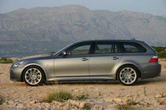BMW 535d Touring - z lásky k rodině (a zatáčkám) (TEST)