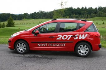 Peugeot 207 SW - uzrálé víno (NOVINKA)