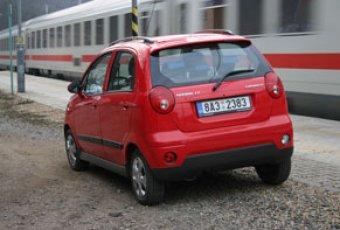 Malý vůz do velkého města - Chevrolet Spark (TEST)