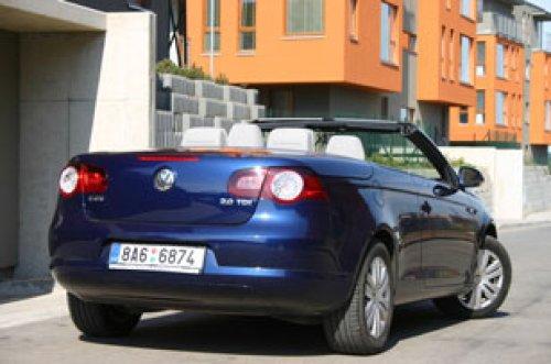 VW Eos 2.0 TDI - širé nebe, romantika a nafta (TEST)