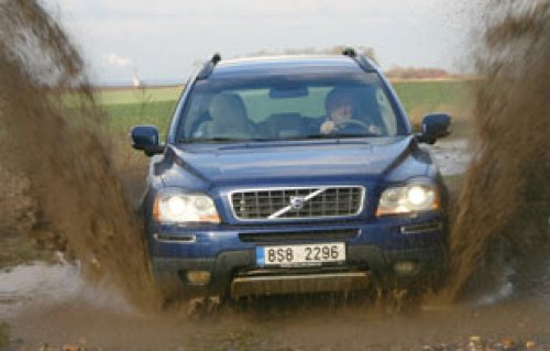 Stálý vítr v plachtách - Volvo XC90 D5 Ocean Race (TEST)