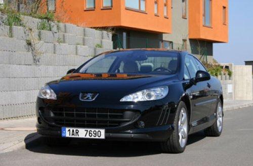 Peugeot 407 Coupé 3.0 HDI - opravdové Grand Tourismo (TEST)