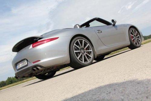 Porsche 911 Carrera S Cabriolet - evoluce 991 pokračuje (TEST)