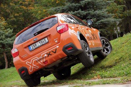 Plnohodnotný obojživelník - Subaru XV 2.0i CVT (TEST)