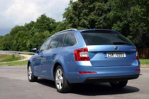 Škoda Octavia Combi 1.6 TDI - výborný kompromis pro šetřílky (TEST)