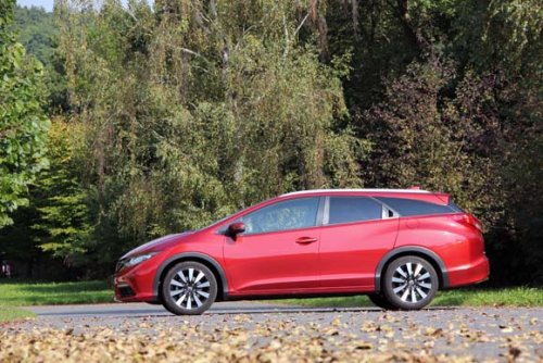 Honda Civic Tourer 1.6 i-DTEC - český sen? (TEST)