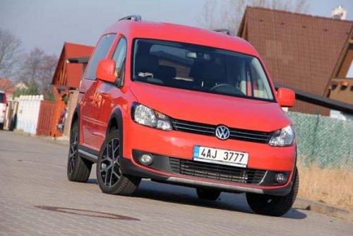 Extravagantní všeuměl - Volkswagen Cross Caddy 2.0 TDI 4Motion (TEST)