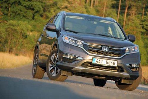 Honda CR-V 1.6 i-DTEC - devětkrát automaticky (TEST)