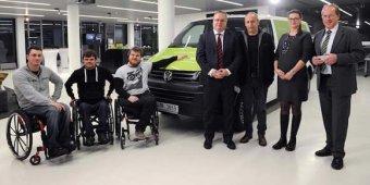 Porsche podporuje handicapované sportovce