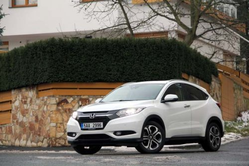 Honda HR-V 1.6 i-DTEC - prostorný premiant (TEST)