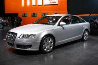 Audi A6 - nová zbraň koncernu VW (Ženeva 2004)