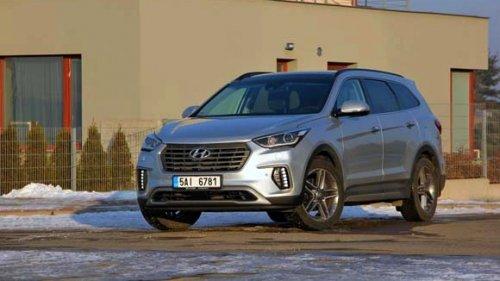 Hyundai Grand Santa Fe 2.2 CRDi 4x4 - na cestě do zámoří (TEST)