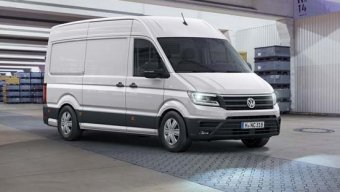 Volkswagen Crafter - užitkový vůz roku 2017 (NOVINKA)