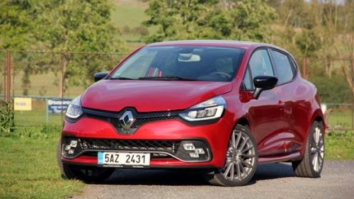 Renault Clio R.S. - step by step (TEST)