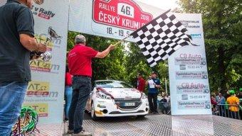 Peugeot Rally Cup nechyběl ani na Rallye Český Krumlov (SPORT)