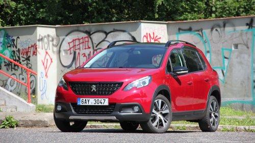 Peugeot 2008 GT 1.2 PureTech - malý šikula