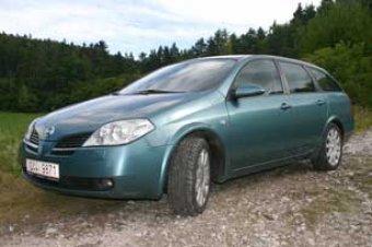 Nadčasové kombi - Nissan Primera 2.2 dCi (TEST)