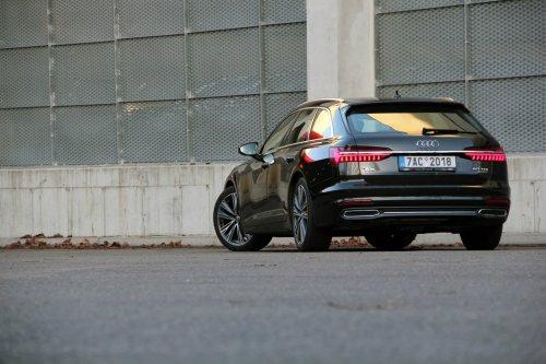 Audi A6 Avant 50 TDI - moderní evoluce